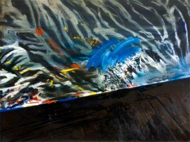 Continuum, Oil on canvas, 70cm x 90cm, 2009