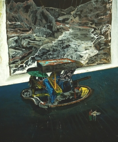 Day trippers, Oil on canvas, 60cm x 50cm, 2010