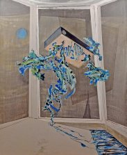 I Told You So. The World is Flat, acrylics on canvas, 200 x 163 cm, 2013