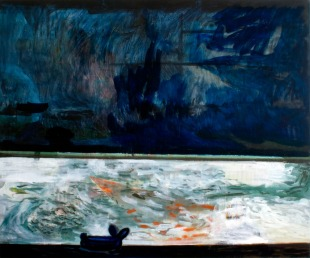 Pool 2, Oil paint on canvas, 100cm x 120cm, 2008