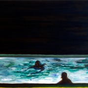 Pool 3, Oil Paint on canvas, 60cm x 70cm, 2008