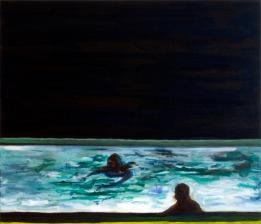 Pool 3, Oil Paint on canvas, 60cm x 70cm, 2008
