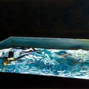 Pool 4, Oil on canvas, 70cm x 80cm, 2008