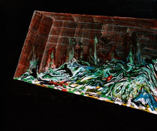 Pool 6, Oil on canvas, 50cm x 60cm, 2009