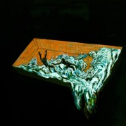 Pool 7, Oil on canvas, 37,5cm x 45,5cm, 2009