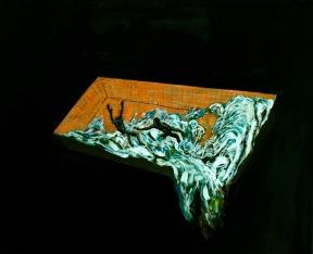 Pool 7, Oil on canvas, 37,5cm x 45,5cm, 2009