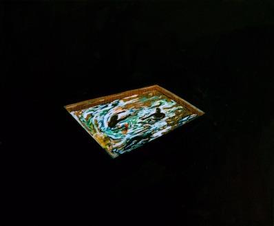 Pool 8, Oil on canvas, 50cm x 60cm, 2009