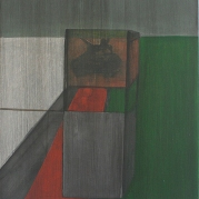 Deconstruction of a tank till painting, 60cm x 50cm, Acrylics on canvas, 2005