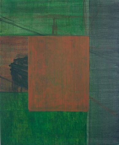 Deconstruction of a tank till painting 2, 60cm x 50cm, Acrylics on canvas, 2005