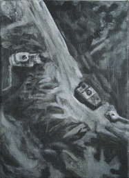 Ex Target, 18cm x 13cm, Acrylics on canvas, 2006