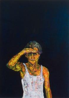 Land, Oil on canvas, 80cm x 60cm, 2008
