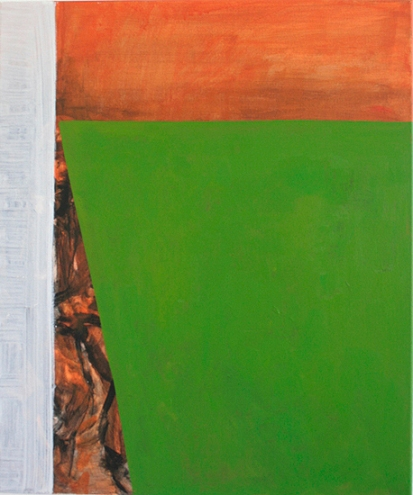 The will to score middle, 60cm x 50cm, Acrylics on canvas, 2005
