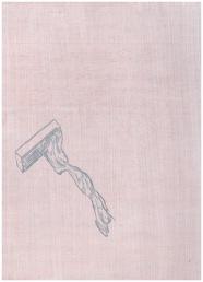 t'zeepaardje(4A), 22cm x 30cm, Watercolour on wood, 2013