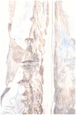 Wheeler Peak (6A), 19,5cm x 30cm, Watercolour on wood, 2013