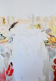 Waterval, 155cm x 108cm, olieverf op doek, 2018