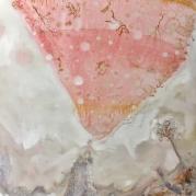 Bubbel meisje, 160cm x 120cm, olieverf op doek, 2018