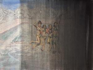 Zwart Gat, Acrylics and oil on canvas, 50cm x 60cm, 2012