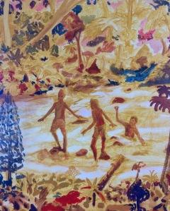 Wet cigarets, 75cm x 63cm, Oil on canvas, 2020